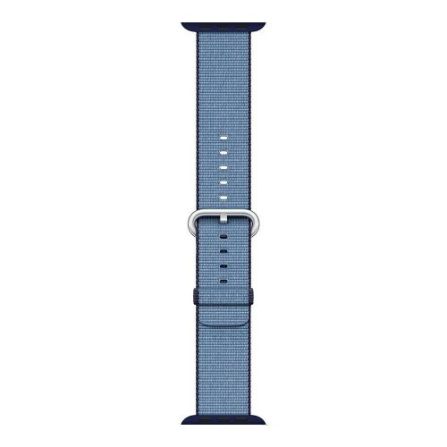 Apple watch woven nylon band navy 1 500x500
