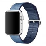 Apple watch woven nylon band navy 2 150x150