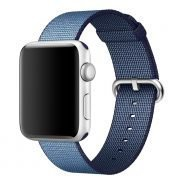 Apple watch woven nylon band navy 2 184x184
