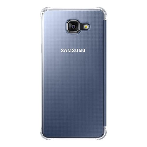 Clear View Cover for Galaxy A7 2016 Black 2 500x500
