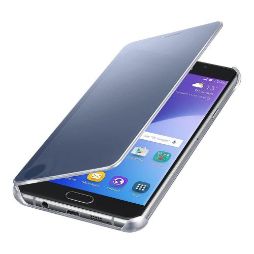 Clear View Cover for Galaxy A7 2016 Black 3 500x500