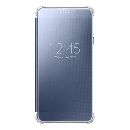 Clear View Cover for Galaxy A7 2016 Black 500x500