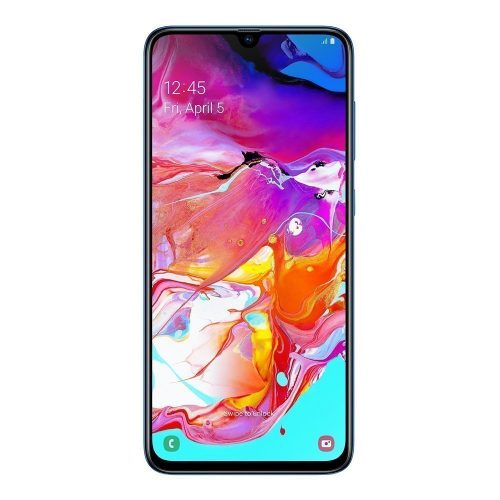 Galaxy A70 blue front 500x500