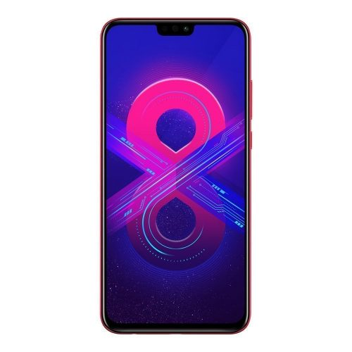 Honor 8X Red front 500x500