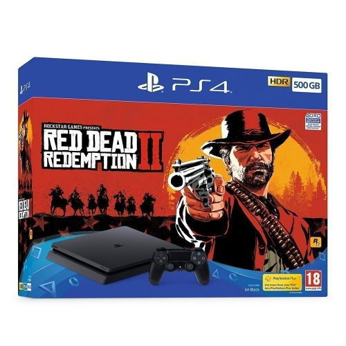 Playstation 4 red dead redemption 2 500x500