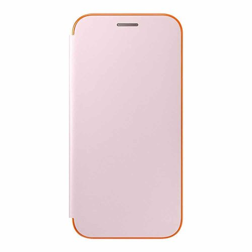 Samsung Neon Flip Cover for Galaxy A 2017 pink 500x500