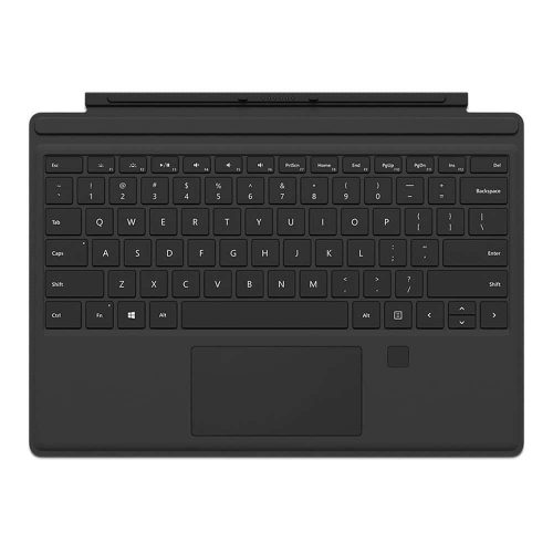 Surface Pro 4 Type Cover with fingerprint reader Black 500x500