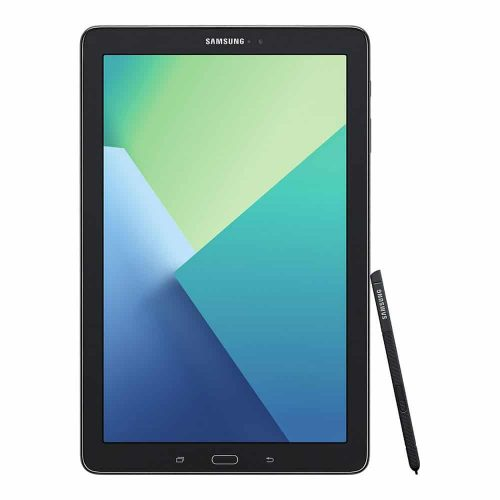 Tab A 10.1 2016 with S Pen front black 500x500