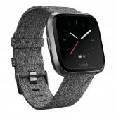 fitbit versa wooven charcoal 165x165 - Fitbit Versa Smartwatch
