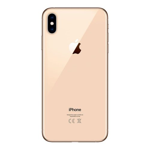 iPhone XS Max gold back 500x500