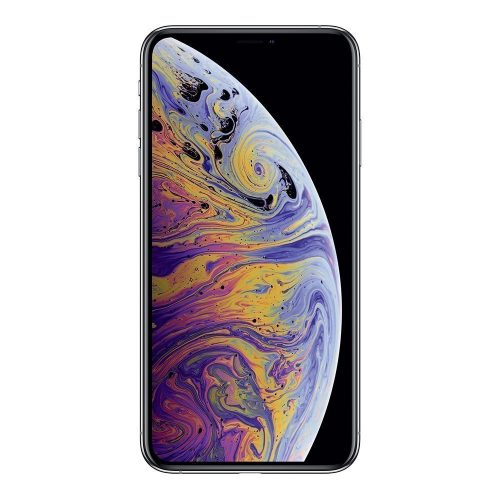 iPhone XS Max silver front 500x500