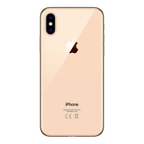 iPhone XS gold back 500x500