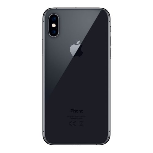 iPhone XS gray back 500x500