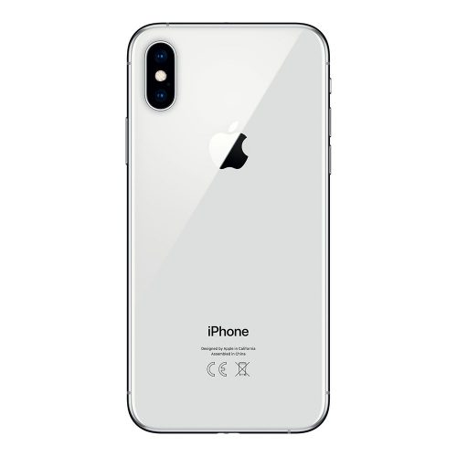 iPhone XS silver back 500x500