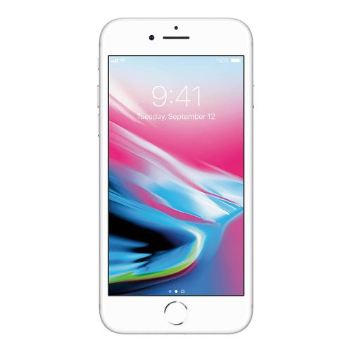 iphone 8 silver front 500x500
