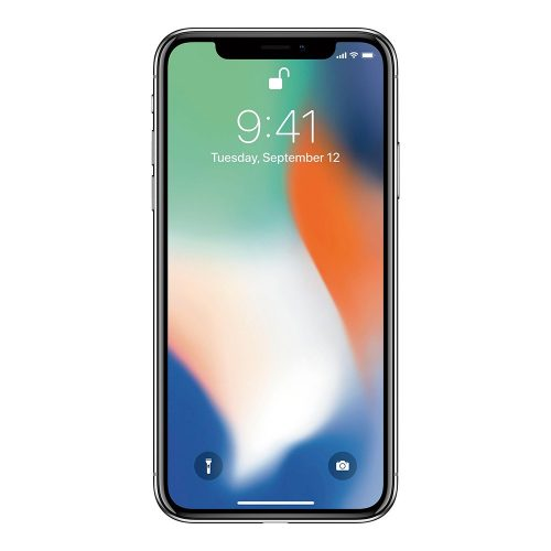 iphone x silver front 500x500