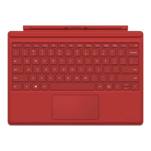 surface pro type cover red 500x500