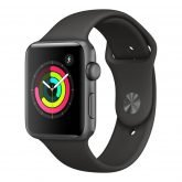 watch 3 space gray gray 165x165 - Apple Watch Series 3 - GPS, Aluminum Case, Sport Band, 42mm
